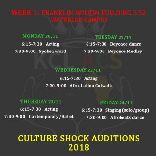 CS audition wk1